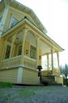 Päärakennus on rakennettu 1805-1810.
