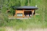 Karhunpesä on suosittu kokous- ja majoitustila.