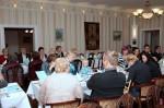 Merikapteenin päivällisellä oli hilpeä tunnelma 8.11.14.