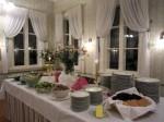 Inkalan Kartano on tunnettu herkullisesta menusta. Tässä Ystävänpäivän Illallisen kattaus.