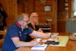 Uudenmaan Yrittäjien järjestöpäällikkö Petri Ovaska kiitteli Karhunpesää ja Inkalan Kartanoa.