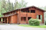Hirsihuvila Karhunpesä sijaitsee Inkalan Kartanon vieressä. Karhunpesä on suosittu kokous-, majoitus- ja illanviettopaikka. Kuva: Tia Yliskylä